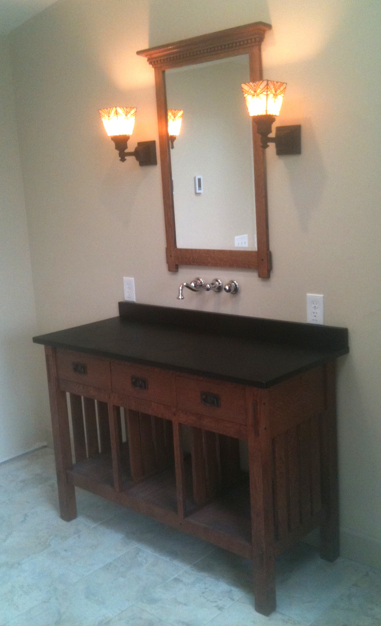 Bathroom Vanity Plans: Woodwork Wood Engineering Projects PDF Plans
