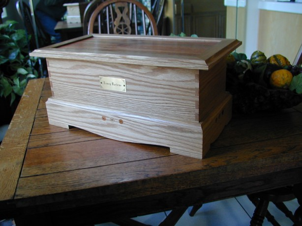 free cedar blanket chest plans