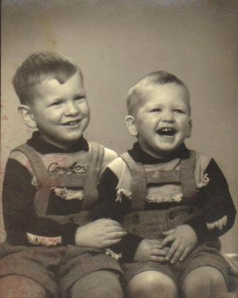 Russell and Roger, about1953