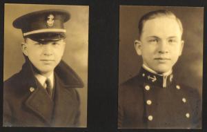Robert Neyman as Naval Cadet 1936